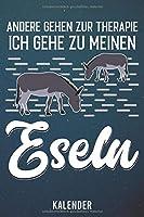 Kalender: 2020 A5 1 Woche 2 Seiten - 110 Seiten - andere gehen zur Therapie Esel