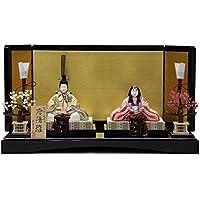 雛人形 平飾り木目込み親王 洛陽雛C992705 幅65cm 3mk12 真多呂