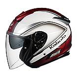 オージーケーカブト(OGK KABUTO)バイクヘルメット ジェット ASAGI CLEGANT (クレガント) パールホワイト (サイズ:L)
