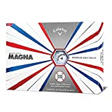 (Supersoft Magna, White) - Callaway Supersoft 2019 Golf Balls (12 Ball Pack)