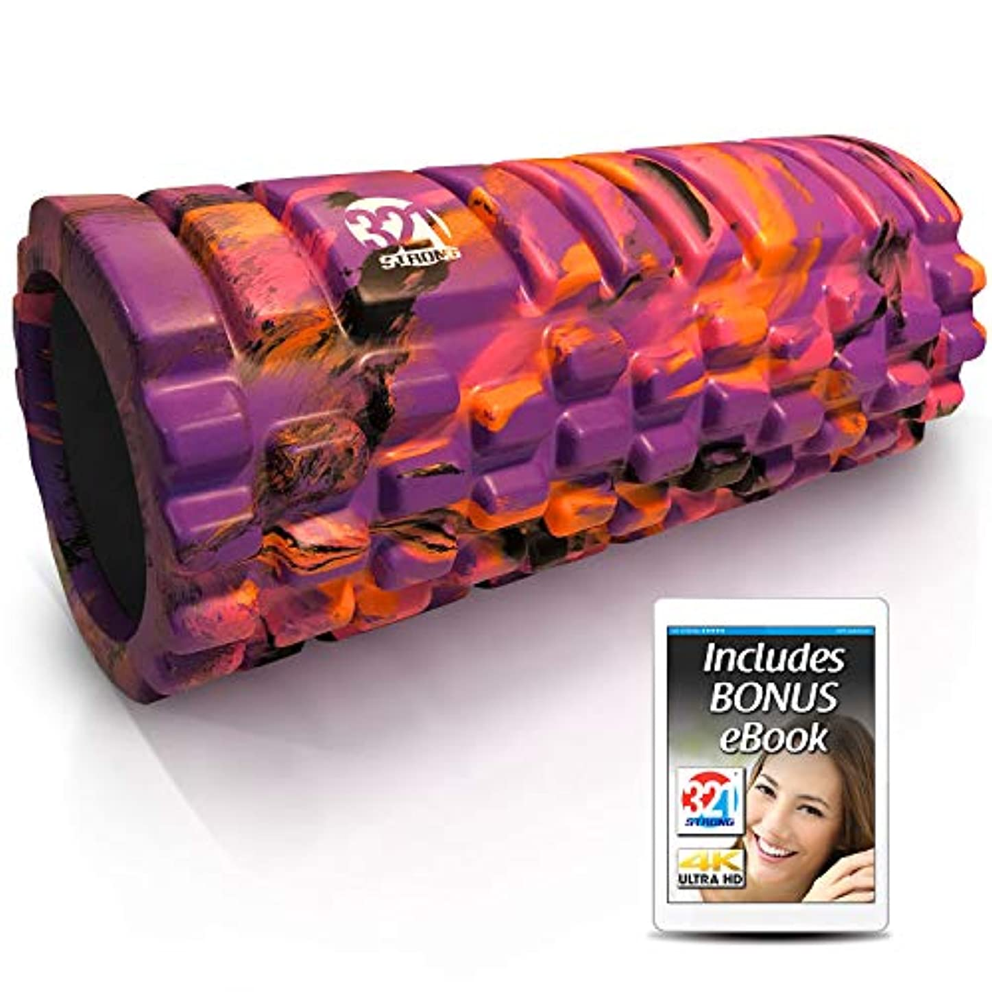 ロマンチックインドどんなときも321 強力フォームローラー - 中密度ディープティッシュマッサージャー 筋肉マッサージ 筋膜トリガー ポイントリリリース 4K eBook。