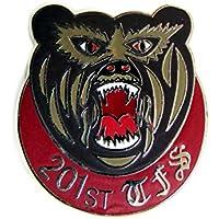 自衛隊グッズ ピンズ ピンバッジ 航空自衛隊 千歳基地 第201飛行隊 熊