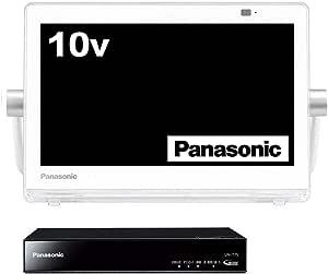 パナソニック 10V型 液晶 テレビ プライベート・ビエラ UN-10E7-W 2017年モデル