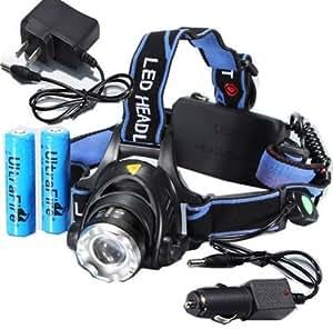 CREE XM-L T6 LEDヘッドライト 4点セット