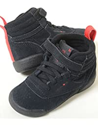 【12cm-16cm】Reebok F/S FREE STYLE HI KAELA リーボック フリースタイル ハイ カエラ ブラック ベビー baby キッズ kids スニーカー 子供靴 cn1726