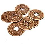 (イスイ)YISHUI 20PCS 風水 中国古銭 開運 コイン お守り 護符 feng shui Y1110 (¥ 780)