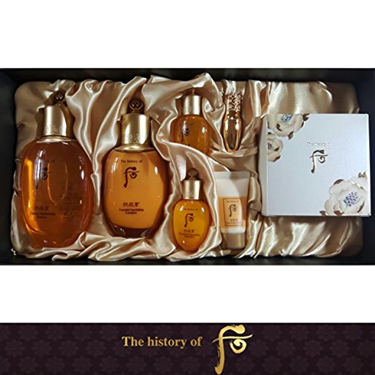 適応バンカーラッチ[The History Of Whoo] Whoo 后(フー) Gongjinhyang Royal Court Inyang 3EA ゴンジンヒャン Special Set/宮廷セット 引き揚げ 3種 のスペシャル...