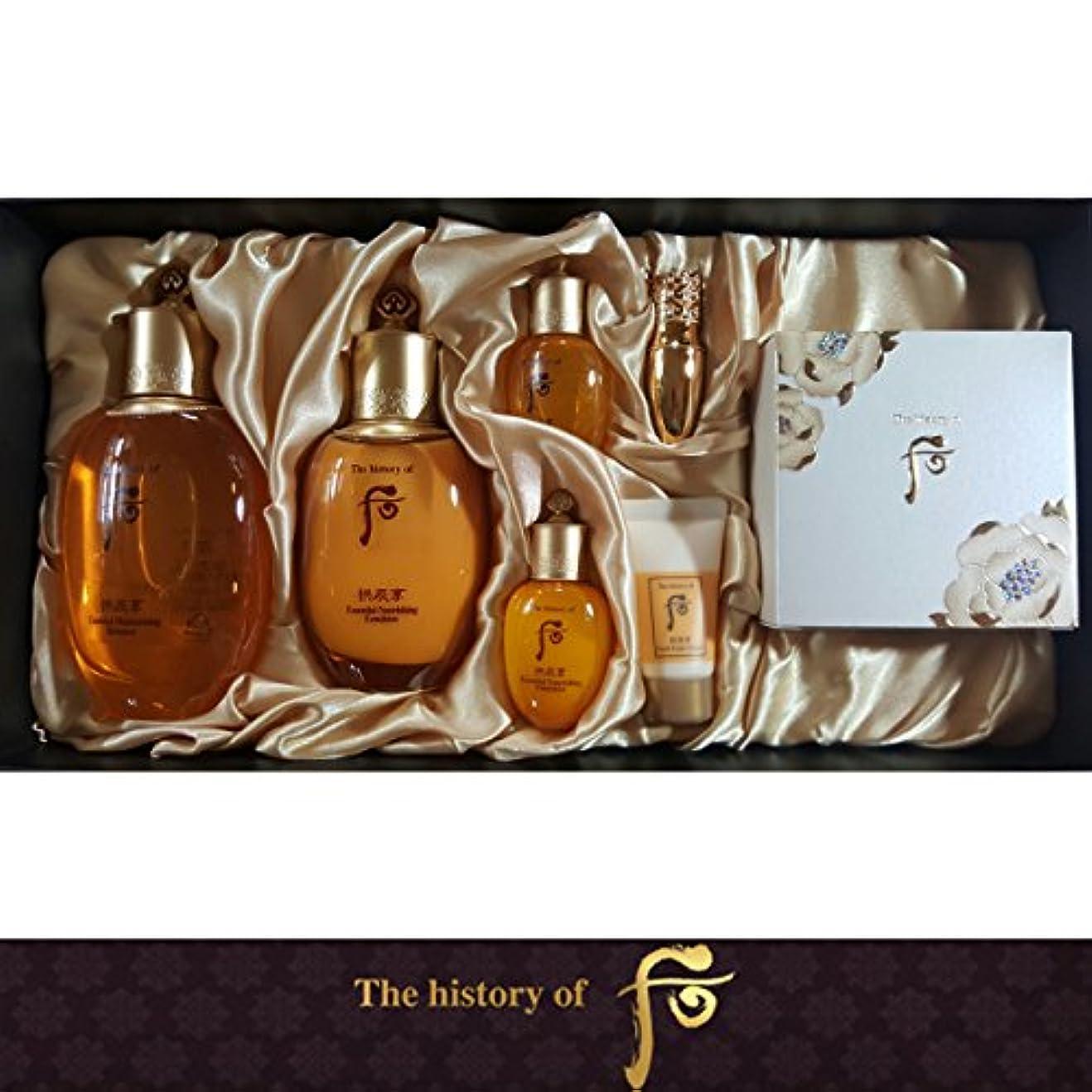 陰気リンス読書[The History Of Whoo] Whoo 后(フー) Gongjinhyang Royal Court Inyang 3EA ゴンジンヒャン Special Set/宮廷セット 引き揚げ 3種 のスペシャル...