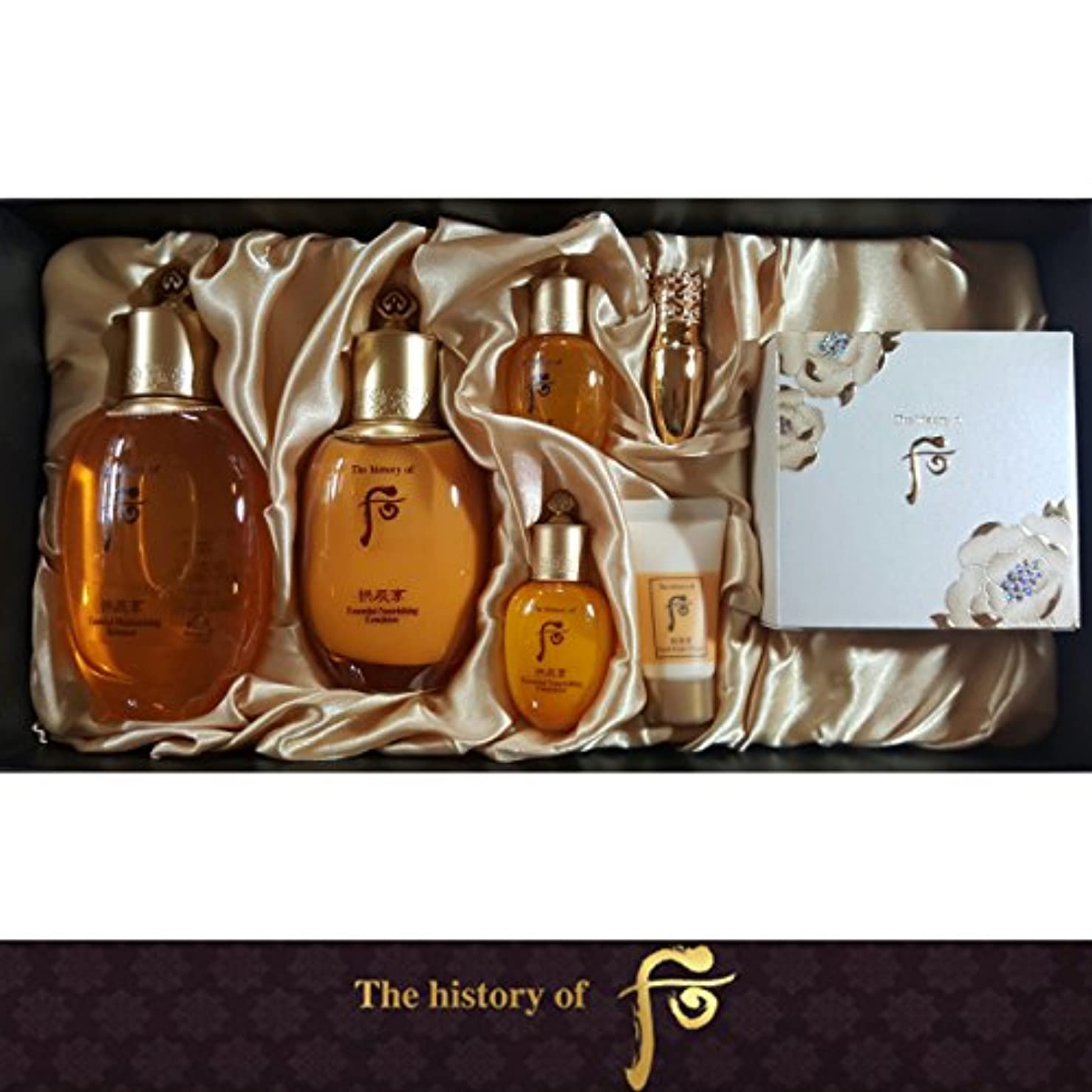 脚本家太いあご[The History Of Whoo] Whoo 后(フー) Gongjinhyang Royal Court Inyang 3EA ゴンジンヒャン Special Set/宮廷セット 引き揚げ 3種 のスペシャル...