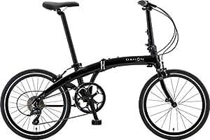 DAHON(ダホン) 折りたたみ自転車 Mu(ミュー) SP9 インターナショナルモデル 20インチ 2016年モデル 外装9段変速 アルミフレーム Obsidian Black PDA093