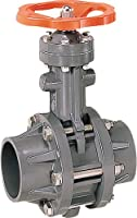 その他製品>MSバルブ>バタフライバルブ ハンドル式接着形VTFH VTFHL-65プラント Mコード:87655 前澤化成工業