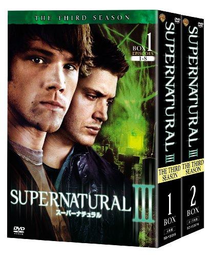 SUPERNATURAL 〈サード・シーズン〉コンプリート・ボックス [DVD]の詳細を見る