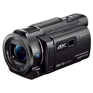 SONY 4Kビデオカメラ Handycam FDR-AXP35 ブラック 光学10倍 FDR-AXP35-B