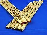 【お祭り・お囃子用 篠笛】入門用 篠笛 籐巻【7穴6本調子】