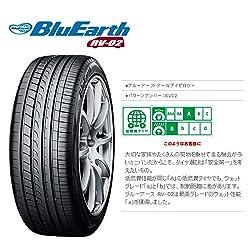 ヨコハマ(YOKOHAMA)  低燃費タイヤ  BluEarth  RV-02  195 65R15  91H