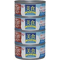 アイリスオーヤマ 美食メニューおいしいごはんツナ&しらす入り 猫用 170g×4個 CB-170F×4
