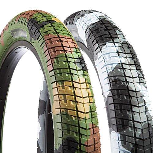 BMX ストリート タイヤ ガム BMX FICTION BIKES フィクション 20インチ Fiction Troop Tire (55-65 PSI) S2824 S2825