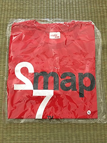SMAP 27時間 TVノンストップライブ 限定Tシャツ 赤色 L