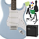 Squier by Fender FSR Affinity SeriesStratocaster Lake Placid Blue 初心者14点セット ヤマハアンプ付 エレキギター ストラト スクワイヤー
