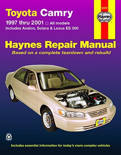Download Toyota Camry and Lexus ES 300 1997-2001 (Haynes Manuals) 1563924048