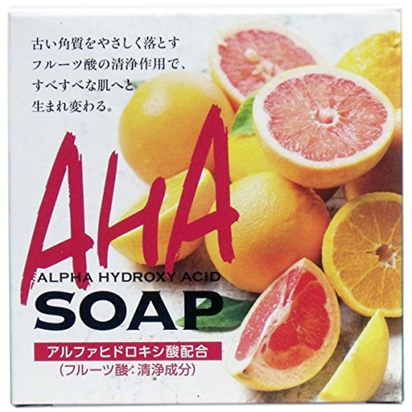 海外で運命的な買い物に行くクロバーコーポレーション フルーツ酸配合石けん 80g 4901498125236