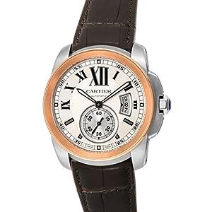 [Cartier]カルティエ 腕時計 CALIBRE ホワイト文字盤 W7100039 メンズ 【並行輸入品】