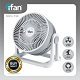 "PowerPac IFAN 8"" Floor Fan with Whole Room Air Circulator"