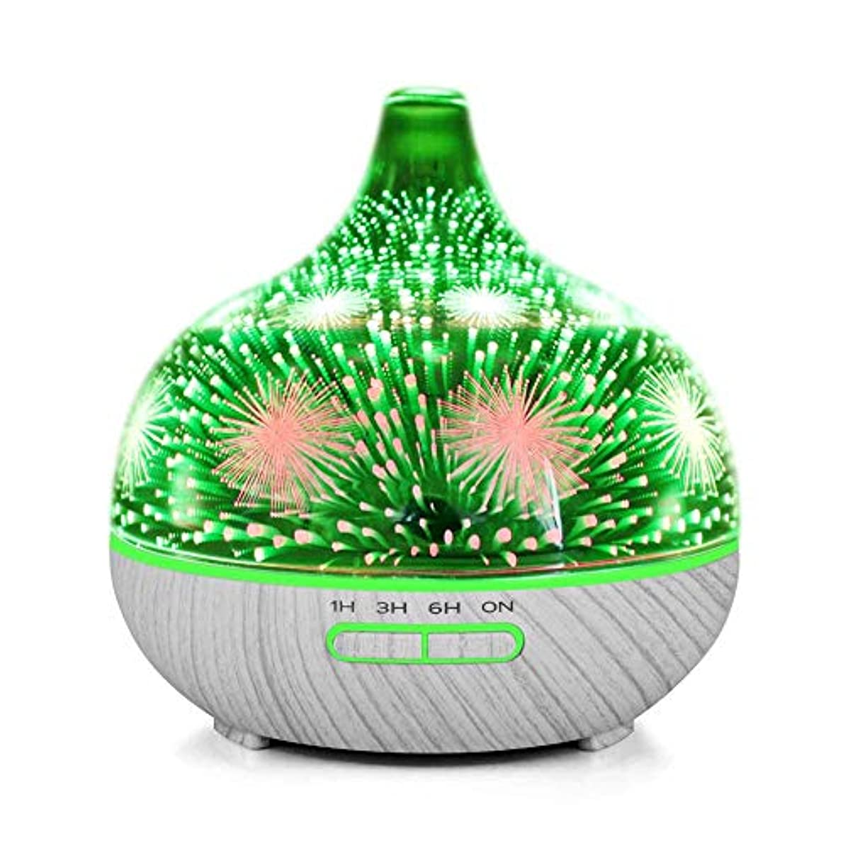 みぞれ情熱飢えたMakifly 3D Night Light Ultrasonic Cool Mist Humidifier, Aroma Diffuser Essential Oil Humidifiers, Aromatherapy...