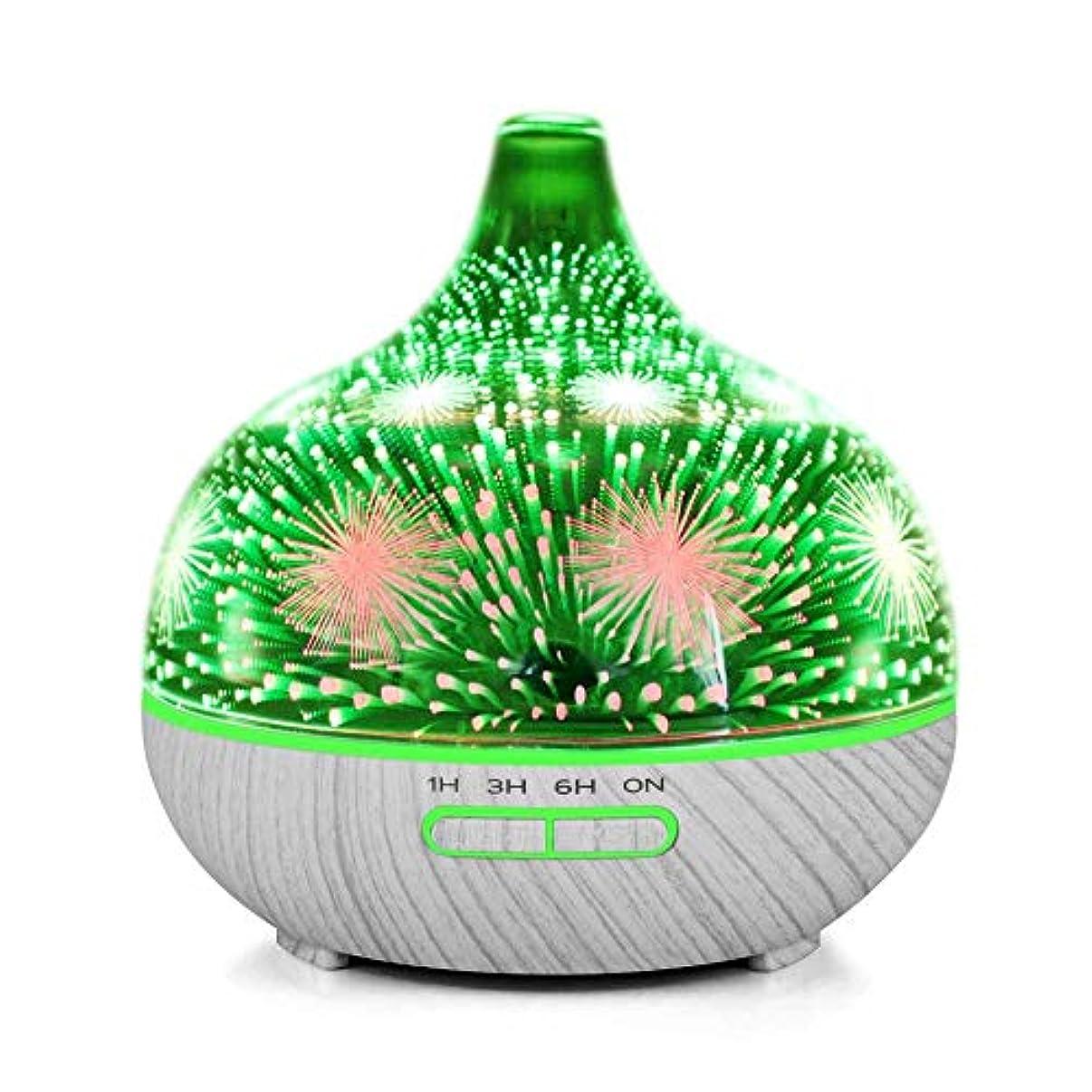 ピンチサーマル請うMakifly 3D Night Light Ultrasonic Cool Mist Humidifier, Aroma Diffuser Essential Oil Humidifiers, Aromatherapy...