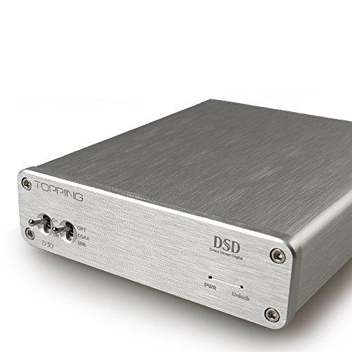 TOPPING D30 オーディオDACデコーダー XMOS DSD USB/光/同軸 CS4398 24Bit/192KHz