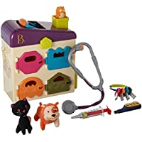 B. Pet Vet Toy Doctor Kit for Kids Pretend Play (8 pieces) 【You&Me】 [並行輸入品]