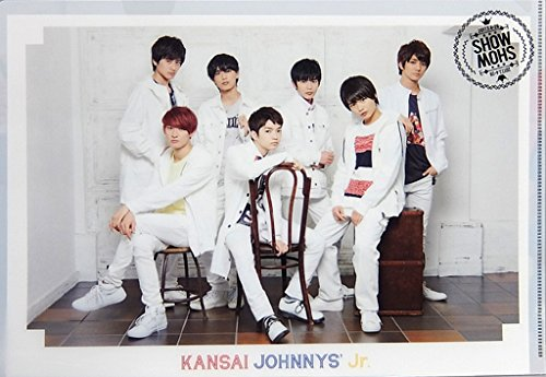 関西ジャニーズJr. A4 クリアファイル  ☆ 2017 関西ジャニーズJr. 春のSHOW合戦 ジャニーズグッズ