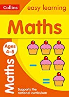 Maths Ages: Ages 4-5 (Collins Easy Learning Preschool)