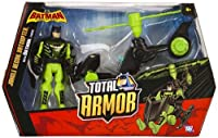 """Jungle Recon Batcopter ~5"""" Figure: Batman The Brave and the Bold Total Armor Series"""