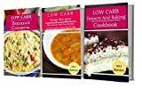 Low Carb Recipes Box Set: Three Delicious Low Carb Cookbooks In One! (Low Carb Diet Book 4) (English Edition)