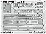 エデュアルド 1/48 F/A-18D 内装エッチングパーツ (キネティック用) プラモデル用パーツ EDU49916