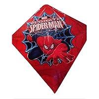 UltimateスパイダーマンKite Spring Time Fun Flyingスーパーマンレッド文字列、ハンドル付き