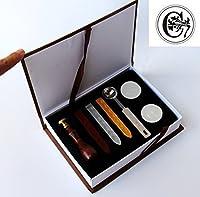 シーリングワックススタンプシールヴィンテージクラシックオールドファッションAlphabet Initial Letter Set真鍮色クリエイティブRomanticスタンプメーカー( C )