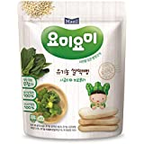 Maeil Organic Rice Rusk Spinach and Broccoli, 30g