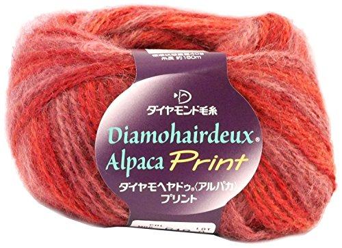 ダイヤモンド ダイヤ モヘヤドゥ アルパカ プリント 618 [編み物/手編み/毛糸]