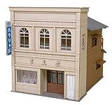 さんけい 1/87 情景シリーズ 街角のお店-2 MK05-06 ペーパークラフト