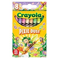 Crayola Pick yourパックPixie Dustクレヨン – 8 Count