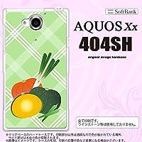 404SH スマホケース AQUOS Xx 404SH カバー アクオス ダブルエックス カボチャ nk-404sh-665