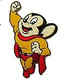 マイティマウス:のアイロンワッペン