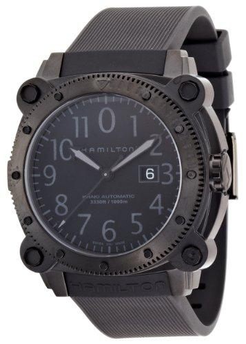 [ハミルトン]HAMILTON 腕時計 正規保証 KHAKI BeLOWZERO 1000(カーキ ビロウゼロ1000) 100気圧防水 H78585333 メンズ 【正規輸入品】