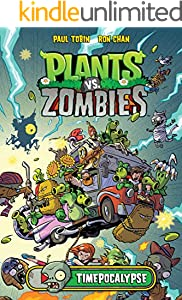 Plants: vs Zombies - Vol 3 Great Cartoon Game Comic Graphic Novels For Young & Teens , Adults Reader (English Edition)