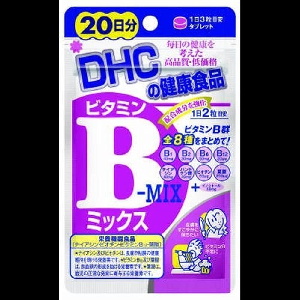 アクセント汚染する絶滅させる【まとめ買い】DHC ビタミンBミックス 20日 40粒 ×2セット