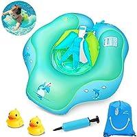 tonovoベビー水泳フロートインフレータブル水泳リング赤ちゃんウエストインフレータブルFloats水泳プールの浴槽、プールSwimトレーナーの3 – 30月 3 -30 Months Tonovo