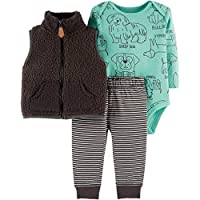 Carter's Baby Boys' 3 Piece Vest Set (Baby)
