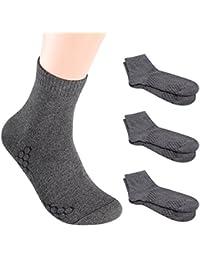 メンズソックス 銀イオンで除菌の靴下 純綿100% 抗菌防臭?吸水速乾加工 vwell